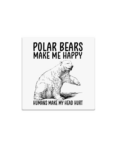 Polar Bears make me happy