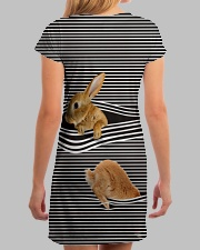 Bunny striped All-over Dress aos-dress-back-lifestyle-3