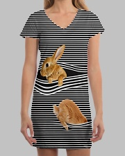Bunny striped All-over Dress aos-dress-front-lifestyle-3