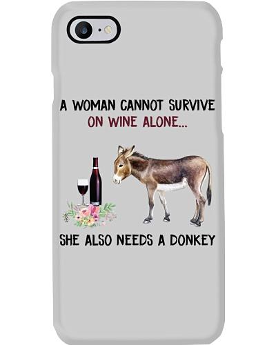She also needs a donkey