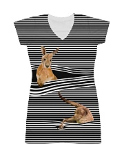 Kangaroo striped All-over Dress thumbnail