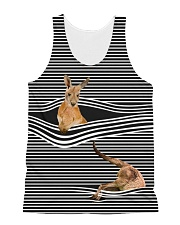 Kangaroo striped All-over Unisex Tank front