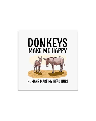 Donkeys make me happy
