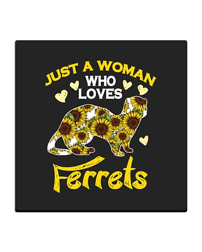 Just a woman who loves Ferrets