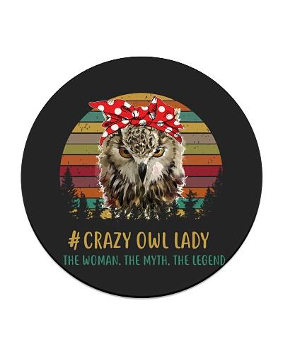 Crazy Owl Lady