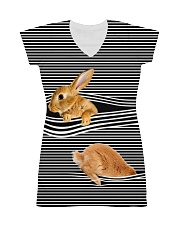 Bunny striped All-over Dress thumbnail