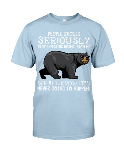 People should seriously-Bear