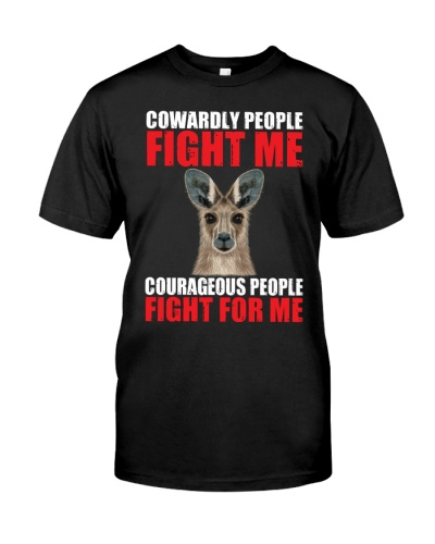 Courageous people fight for me-Kangaroo