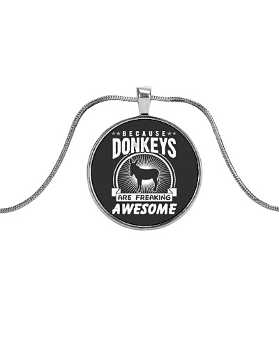 Because Donkeys are freaking awesome