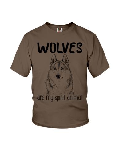Wolves are my spirit animal