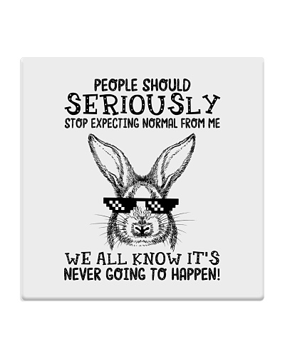 People should seriously-Bunny