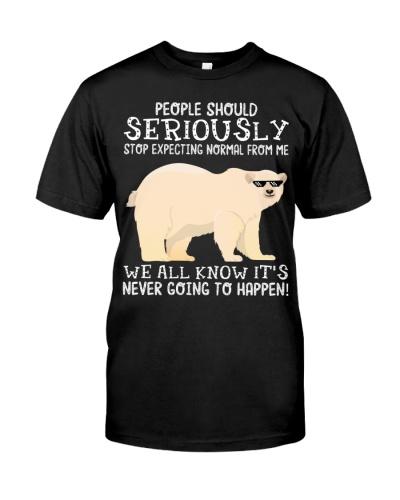 People should seriously-Polar Bear
