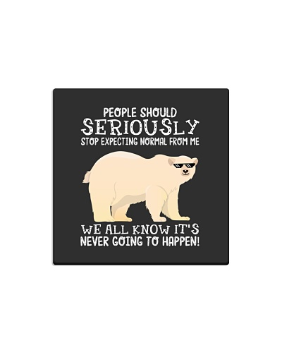 People should seriously-Polar Bear