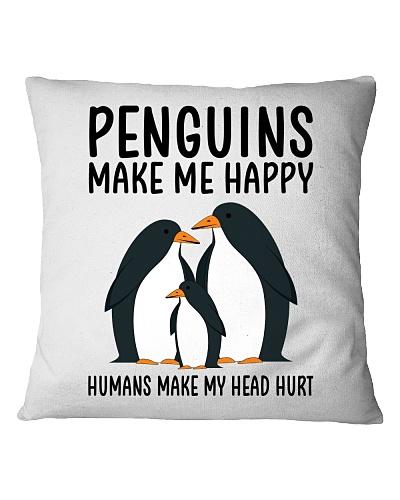 Penguins make me happy