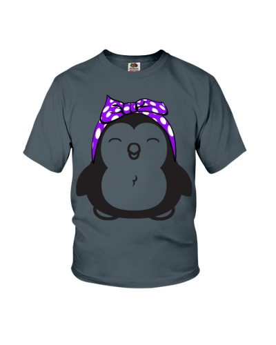 Strong-Penguin-Woman-Purple-bow