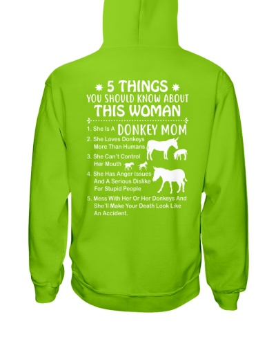 5 things you should know about this Donkey Mom