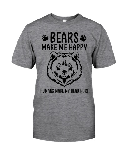 Bears make me happy