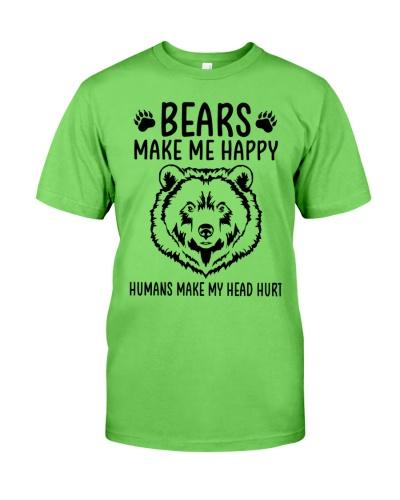 Bears make me happy