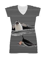 Penguin striped All-over Dress thumbnail