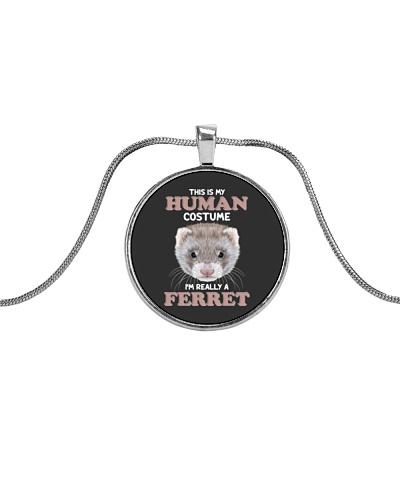 Human costume-Ferret