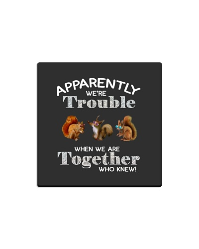 Apparently we're trouble-squirrels
