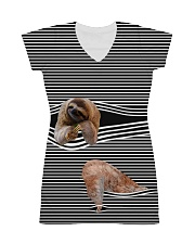 Sloth striped All-over Dress thumbnail