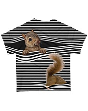 Squirrel striped All-over T-Shirt back