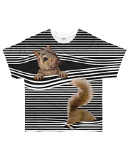 Squirrel striped All-over T-Shirt front