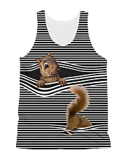 Squirrel striped All-over Unisex Tank thumbnail