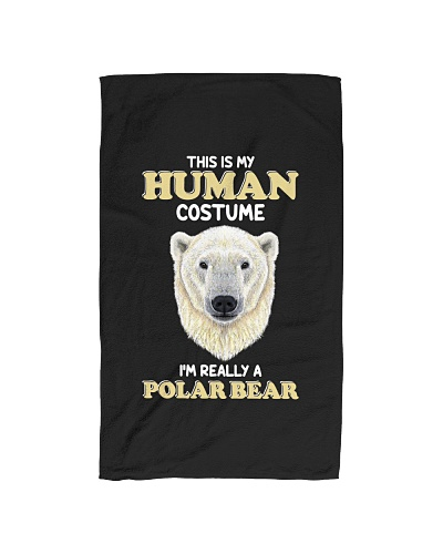 Human costume-Polar Bear