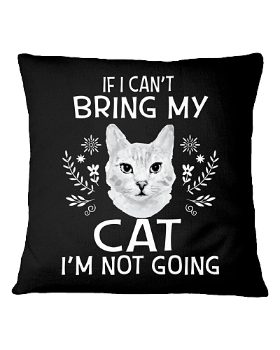 If I can't bring my cat-I'm not going