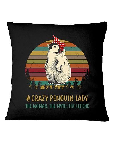 Crazy Penguin Lady