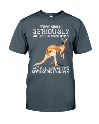 People should seriously-Kangaroo