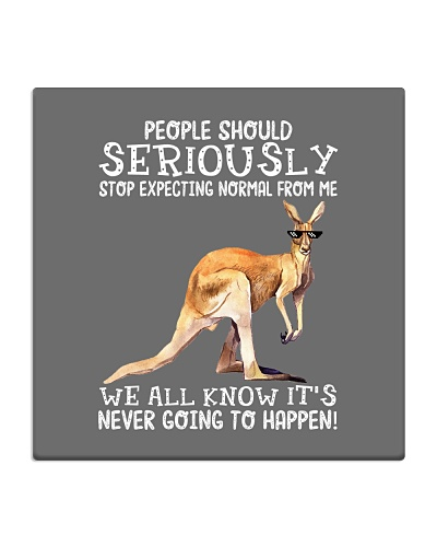 People should seriously-Kangaroo
