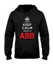 I Cant Keep Calm I Work At ABB Hooded Sweatshirt thumbnail