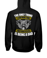 THE ONLY THING I LOVE MORE THAN MOTORCYCLES IS DAD Hooded Sweatshirt thumbnail