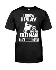 MOTOCROSS T-SHIRT Classic T-Shirt front