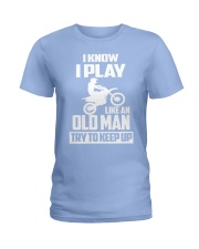 MOTOCROSS T-SHIRT Ladies T-Shirt thumbnail