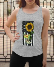 American Sun Flower'n Boots  Ladies Flowy Tank apparel-ladies-flowy-tank-lifestyle-04