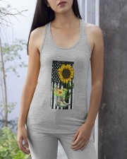 American Sun Flower'n Boots  Ladies Flowy Tank apparel-ladies-flowy-tank-lifestyle-front-26