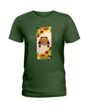 SunFlower'n Truck USA Ladies T-Shirt thumbnail
