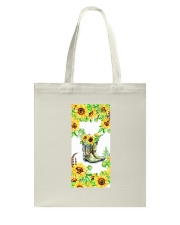 SunFlower'n Boots Vintage Tote Bag thumbnail