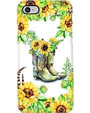 SunFlower'n Boots Vintage Phone Case i-phone-7-case