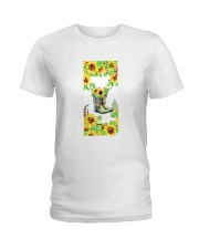 SunFlower'n Boots Vintage Ladies T-Shirt thumbnail