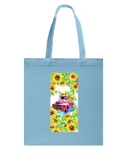 SunFlower'n Car Truck Tote Bag thumbnail