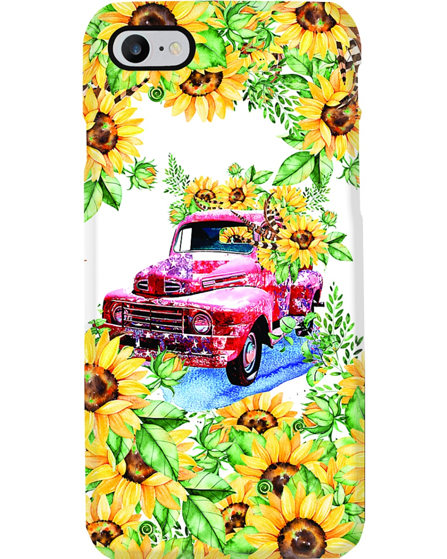 SunFlower'n Car Truck Phone Case
