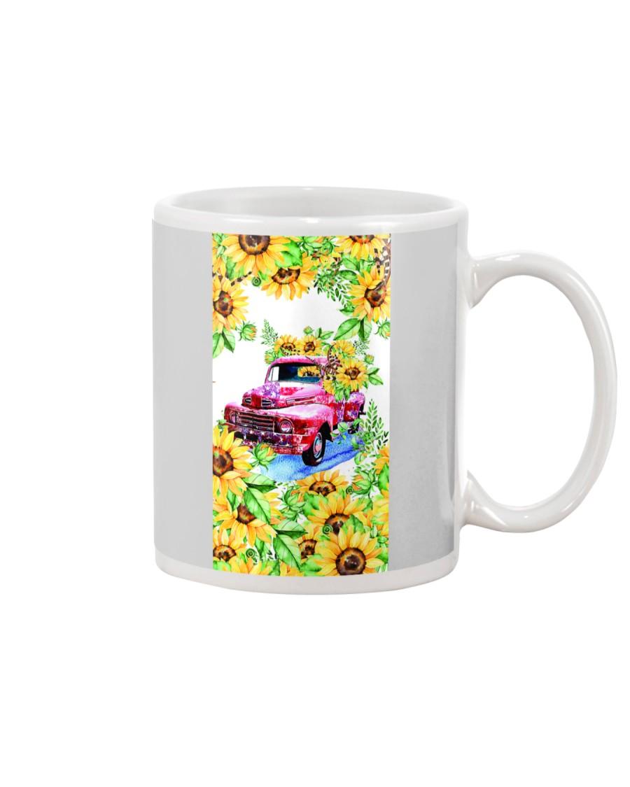 SunFlower'n Car Truck Mug