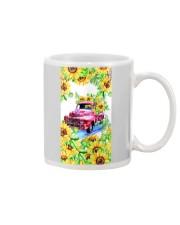 SunFlower'n Car Truck Mug front