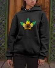 Das Sunflower Weed Hooded Sweatshirt apparel-hooded-sweatshirt-lifestyle-front-03