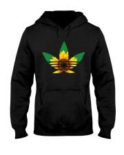 Das Sunflower Weed Hooded Sweatshirt front